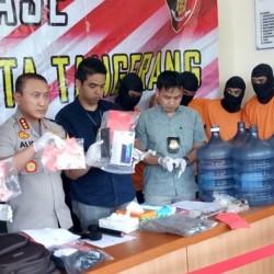 Polres Kota Tangerang Ungkap Perampokan dan Pembunuhan
