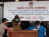 Petugas Kesehatan di Kabupaten Serang Siaga di Tempat Pleno Pemilu