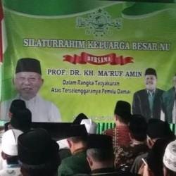 PWNU Mengaku Malu Sedikit Jokowi-Ma'ruf Kalah di Banten