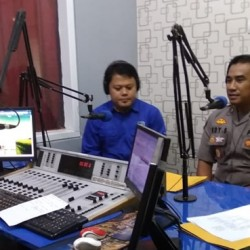 Talk Show di Radio, Polda Ajak Masyarakat Pelihara Pemilu yang Damai