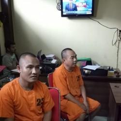 Melawan, 2 Bandit Ganjal Kartu ATM Ditembak