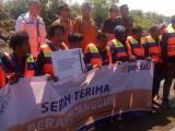 DT Salurkan Puluhan Perahu untuk Nelayan Korban Tsunami Selat Sunda