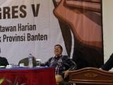 Andika Buka Kongres V Pokja Wartawan Banten