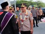 Rampak Bedug Ramaikan Kunker Kapolda Banten