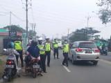 Hari Pertama Ops Patuh, Ratusan Pengendara Kendaraan Ditilang
