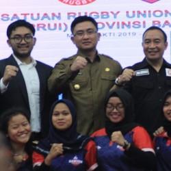 Andika Minta Olah Raga Rugby Terdaftat di KONI Banten