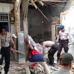 Gempa Sumur, Polda Banten Catat 109 Bangunan Rusak