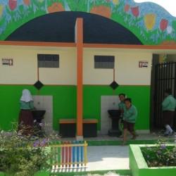 Tunjang PHBS, SDN di Kabupaten Serang Dibangun Sanitasi