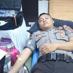 HUT Lalulintas ke-64, Dirlantas Polda Donorkan Darah