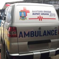 Bupati Serang: Pelayanan Ambulan Desa Gratis