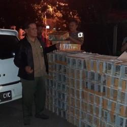 Polisi Gagalkan Penyelundupan 1.812 Ekor Burung Illegal di Banten