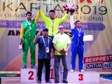 Atlet Angkat Besi Banten Pecahkan Rekor Dunia di Popnas