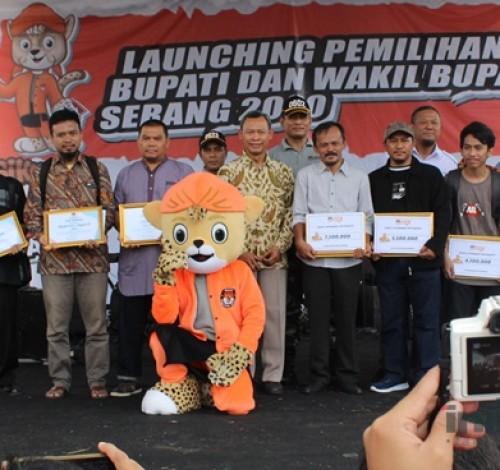 KPU Launching Pilbup dan Wabup Serang 2020