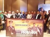 Nobar FilmSang Prawira, Kapolres Serang Ajak Wartawan
