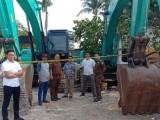 Polisi Limpahkan Tersangka Penambangan Ilegal ke Kejari Serang