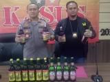 Ops Sikat Kalimaya 2019, Polres Serang Sita Ribuan Botol Miras