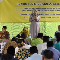 Reses, Adde Rosi Dicurhati Lambatnya Pembangunan di Pandeglang