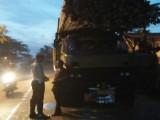Tekan Lakalantas, Polres Lebak Razia Truk Over Load