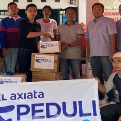 XL Ajak Pelanggan Bantu Korban Bencana Melalui Layanan Xmart Donasi