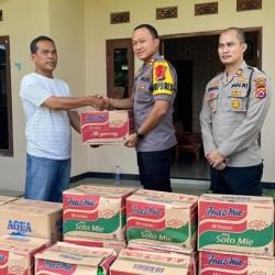 Polres Serang Salurkan Bantuan untuk Korban Banjir di Kopo