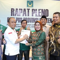 PBB Resmi Usung Ratu Tatu di Pilkada Kabupaten Serang