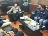Penguatan Sinergi, PWI Banten Kunjungi Mapolda Banten