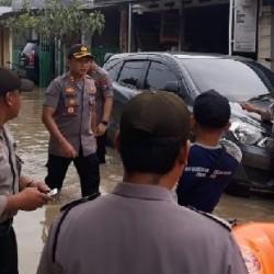 Kapolres Serang: Penyebab Banjir Akibat Pendangkalan Sungai dan Sampah