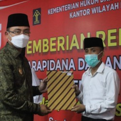 Disaksikan Wagub, Napi Banten Nyatakan Siap Jadi Relawan Vaksin Covid-19