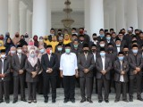 Lepas 64 Kafilah, Pemkab Serang Target Juara Umum MTQ ke-XVII Banten