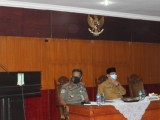 Rakor, Pjs Bupati Serang Fokus Penanganan Covid-19