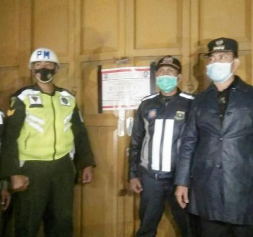Dibantu TNI-Polri, Pemkab Serang Tutup Tempat Hiburan Malam di JLS