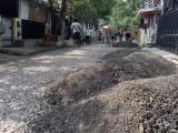 Iuran Sukarela Selama 8 Bulan, Warga TBL Bangun Jalan Secara Swadaya