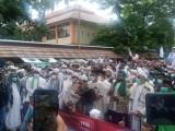 Langgar Prokes, Satgas Covid-19 Kota Serang bersama TNI - POLRI, Bubarkan Aksi FUIB Dengan Humanis
