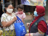 Laznas Chevron dan Dompet Dhuafa Banten Salurkan Paket Nutrisi