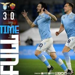 Lazio Bantai As Roma 3 - 0 Tanpa Balas