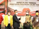 KPU Tetapkan Tatu-Pandji Bupati dan Wakil Bupati Serang Terpilih