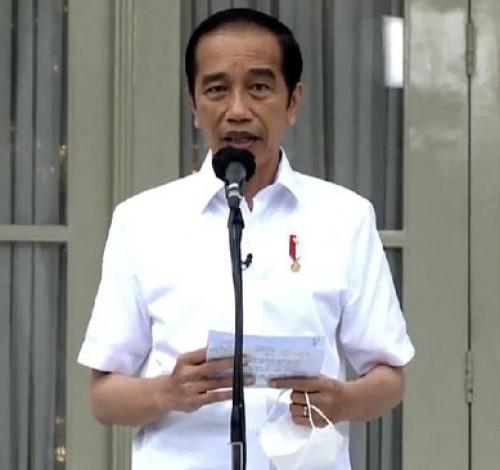 Jokowi Minta Aparat Tindaklanjuti Temuan Komnas HAM soal FPI