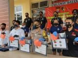 Kawanan Spesialis Pembobol Toko Emas Diringkus Polisi