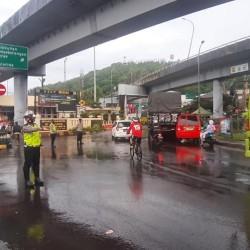 Polda Banten Lakukan Pengamanan Libur Imlek di Pelabuhan Merak
