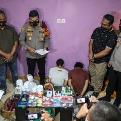 Home Industri Ekstasi di Tangerang Digerebek Polisi