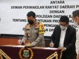 DPRD dan Polda Banten MoU Terkait Produk Hukum Daerah
