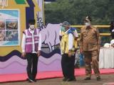 Presiden Jokowi Resmikan Bendungan Sindang Heula