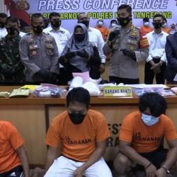 Pesta Sabu, Oknum Kades di Kabupaten Tangerang Digerebek Polisi