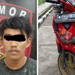 Sindikat Penadah Curanmor di Tangerang Dibekuk