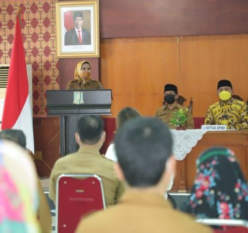 Nilai MCP Baik, KPK Dorong Pemkab Serang Lebih Ditingkatkan