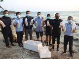 Polda Banten Gagalkan Penyelundupan 12.000 Benih Lobster