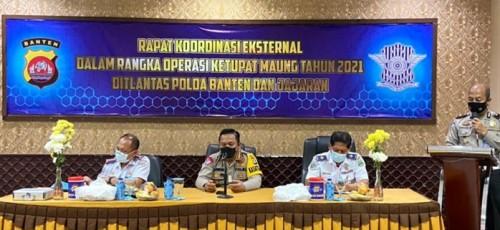 Polda Banten Bakal Larang Angkutan Umum Menyebrang ke Sumatera