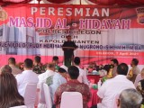 Kapolda Banten Resmikan Masjid Al-Hidayah di Mapolres Cilegon