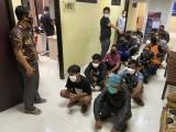 Polres Serang Amankan Belasan Preman dan Sita Uang Pungli