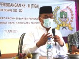 Wakil Ketua DPRD Banten Dorong Pemerintah Sajikan Data Covid-19 dengan Transparan